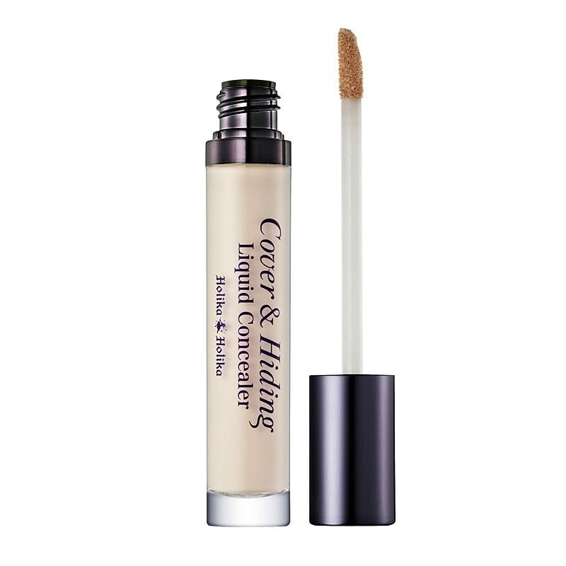 Holika Holika Peitekreem Cover & Hiding Liquid Concealer 01 Light Beige - Holika Holika