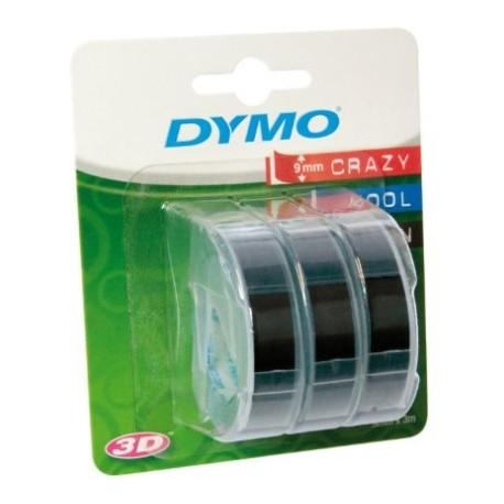 Dymo embossing tape 3D 9mm 3m 3pcs - Photopoint