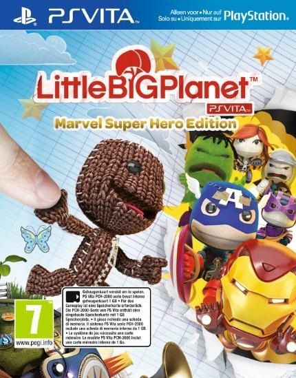 LittleBigPlanet PS Vita: Marvel Super Hero Edition - Alzgamer