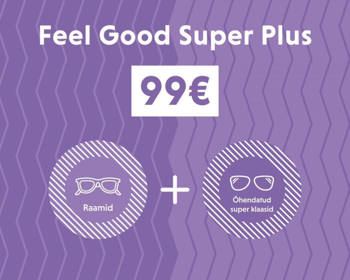 Feel Good Super Plus pakett 99 - Pere Optika