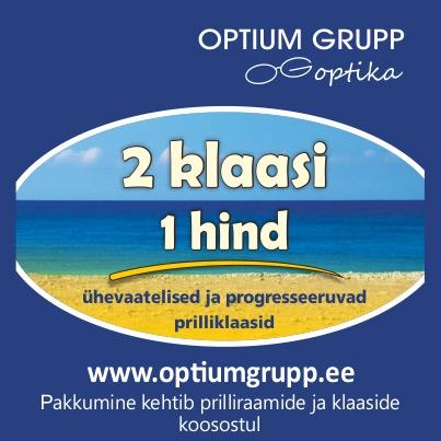 SUVEL SAAD UUED KLAASID POOLE SOODSAMALT! - Optium Optika