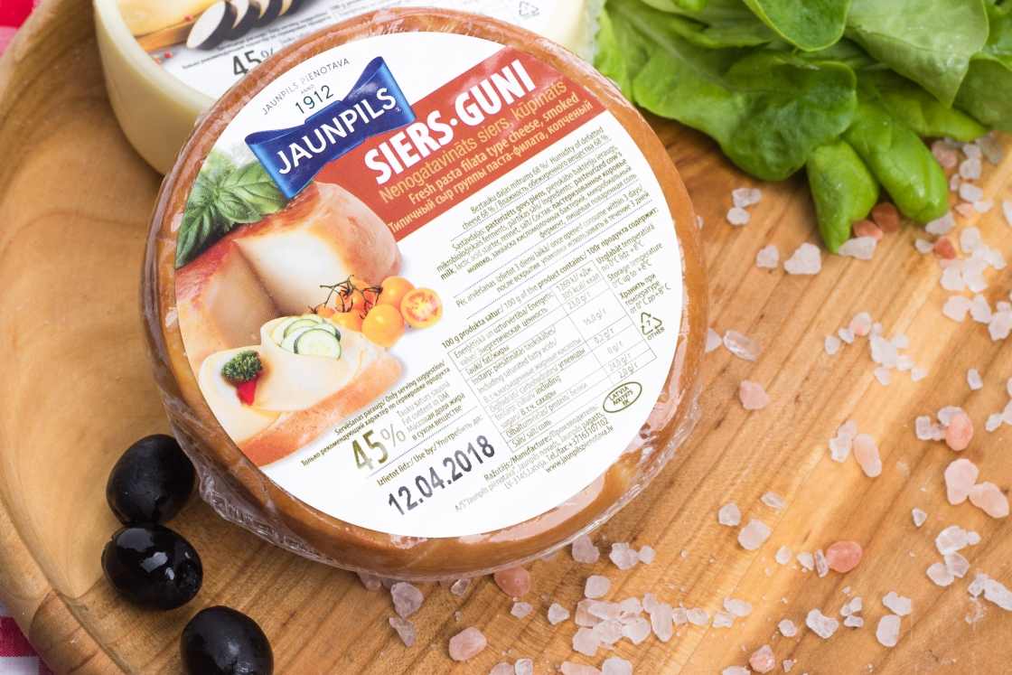 SULGUNI Jaunpils suitsutatud ~ 400 gr - Baltic Cheese
