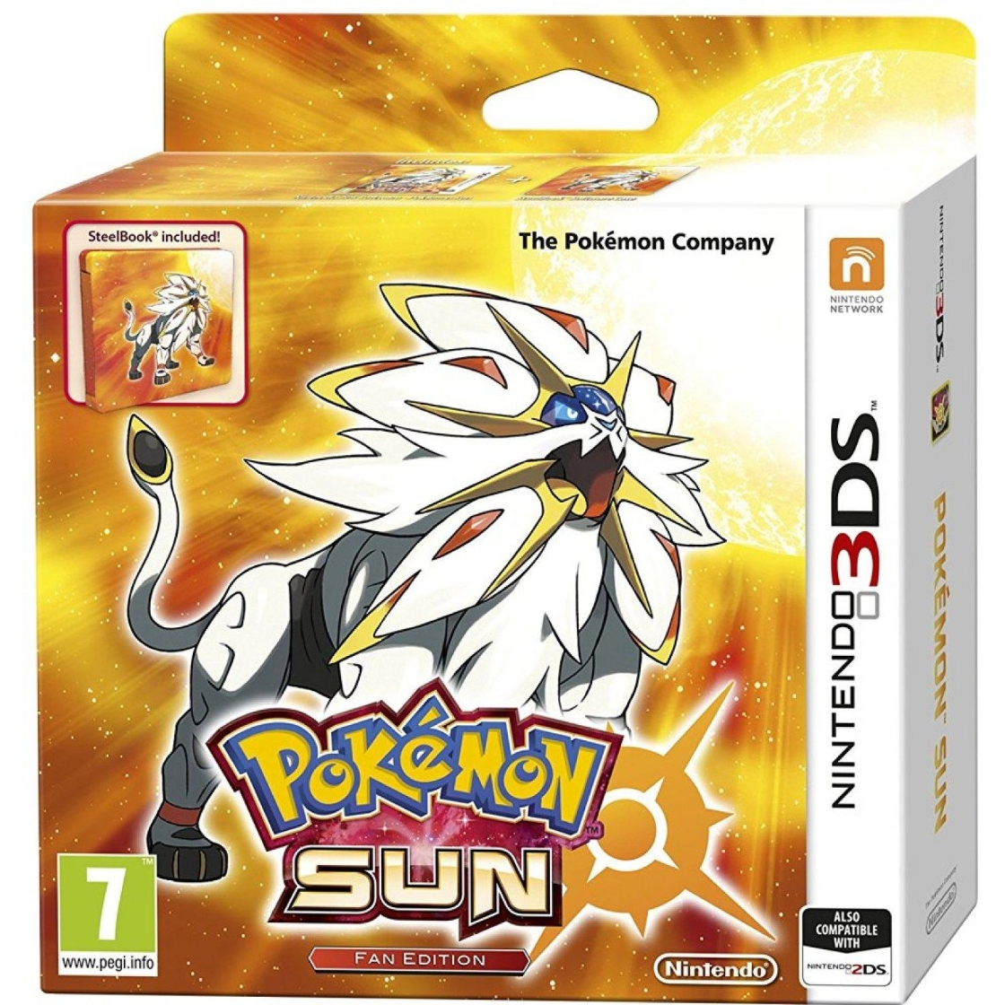 Pokemon Sun Fan Edition (uus) - Alzgamer