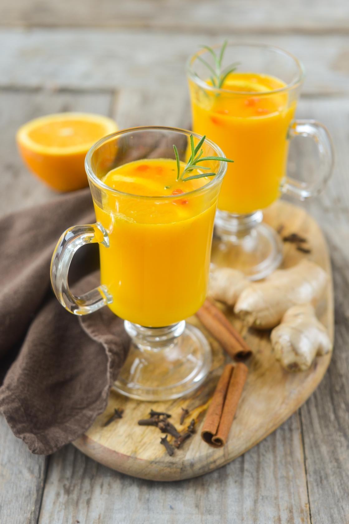 Soojendav astelpaju-apelsinijook