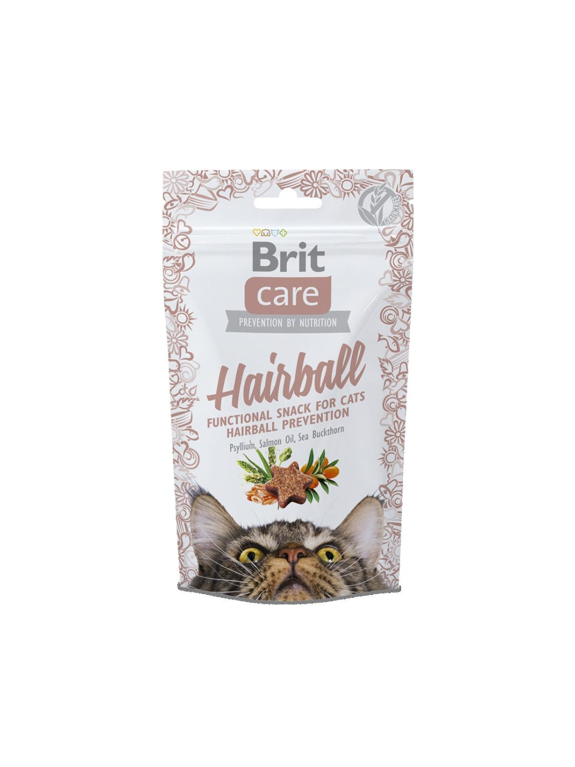 Brit Care kassimaius hairball 50 g. - PetCity