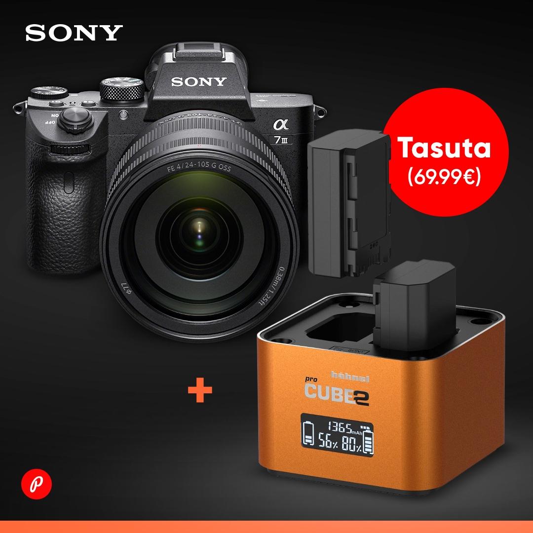 Sony a7 seeria täiskaadri ostul kaasa kingitus - Photopoint