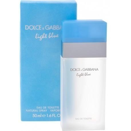 Dolce&Gabbana Light Blue Pour Femme Eau de Toilette 50ml - Photopoint