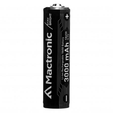 Mactronic rechargeable battery 18650 3000mAh - Photopoint