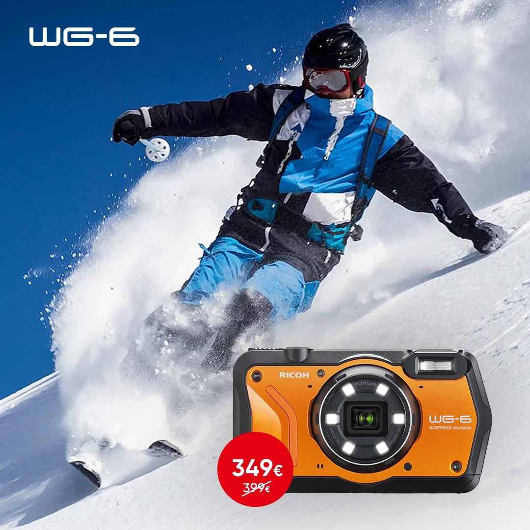 Ricoh WG-6 kaamera on müügil 50€ soodsamalt - Photopoint