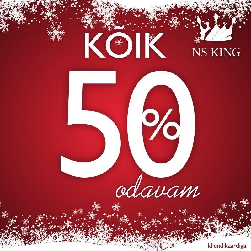 KÕIK -50% - NS King