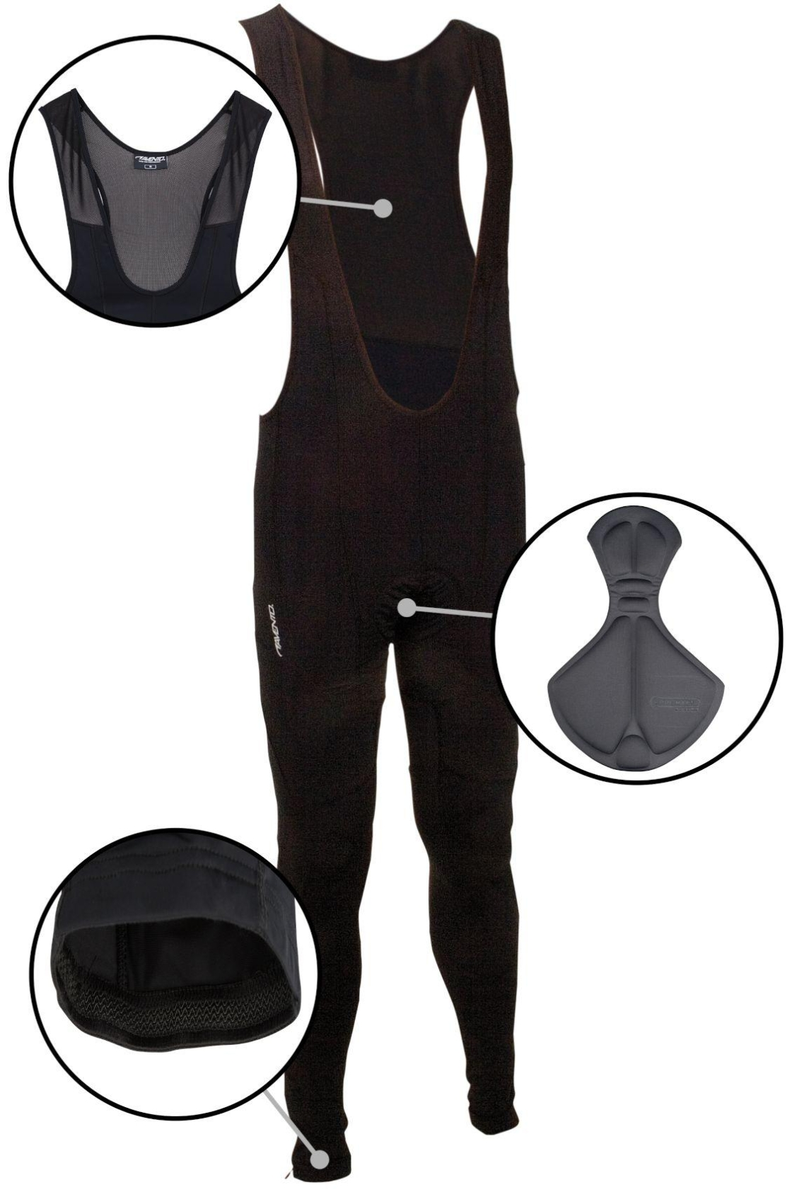 Men's Cycling Bib Trousers Avento - ON24 SPORT