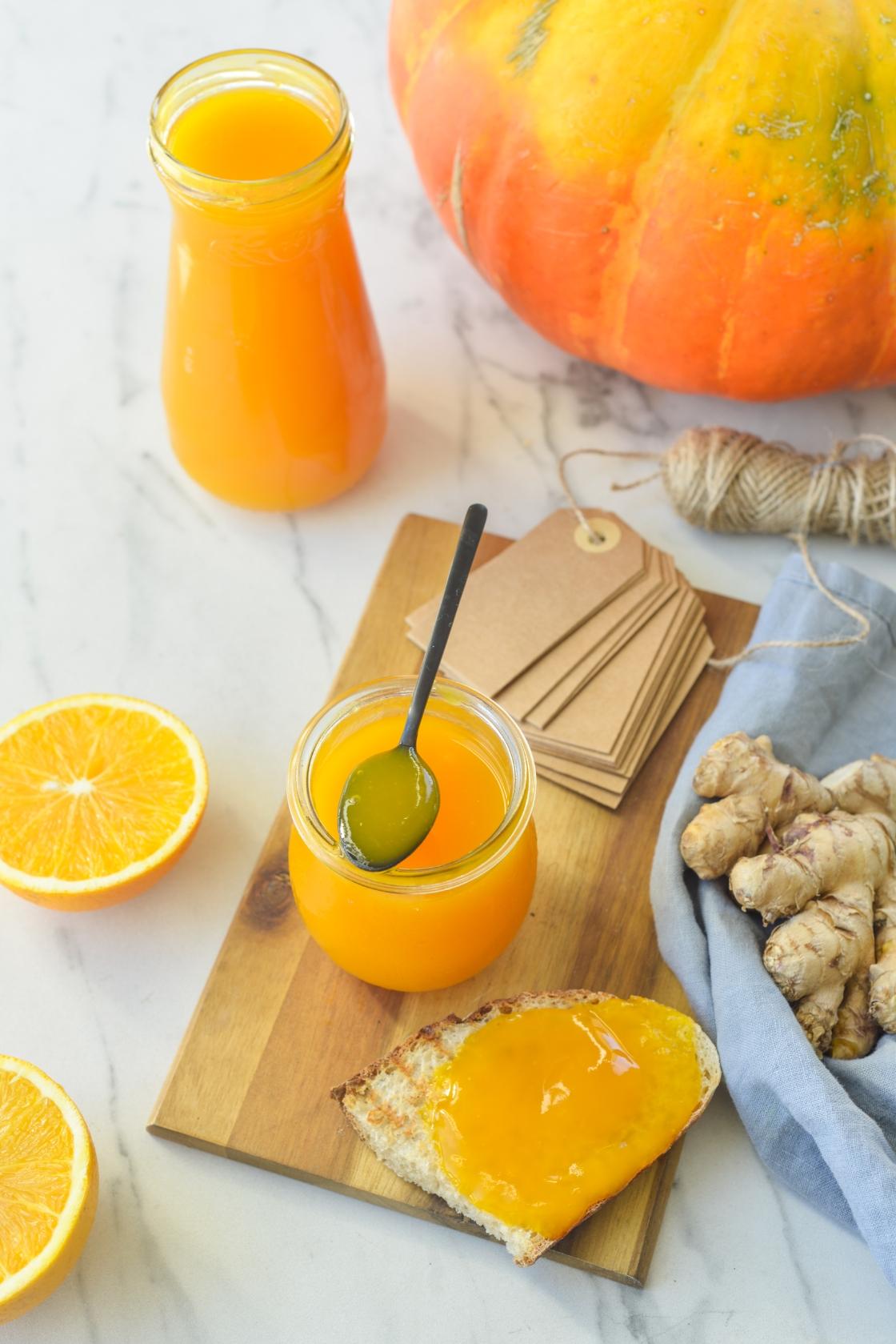Kõrvitsamoos apelsini ja ingveriga