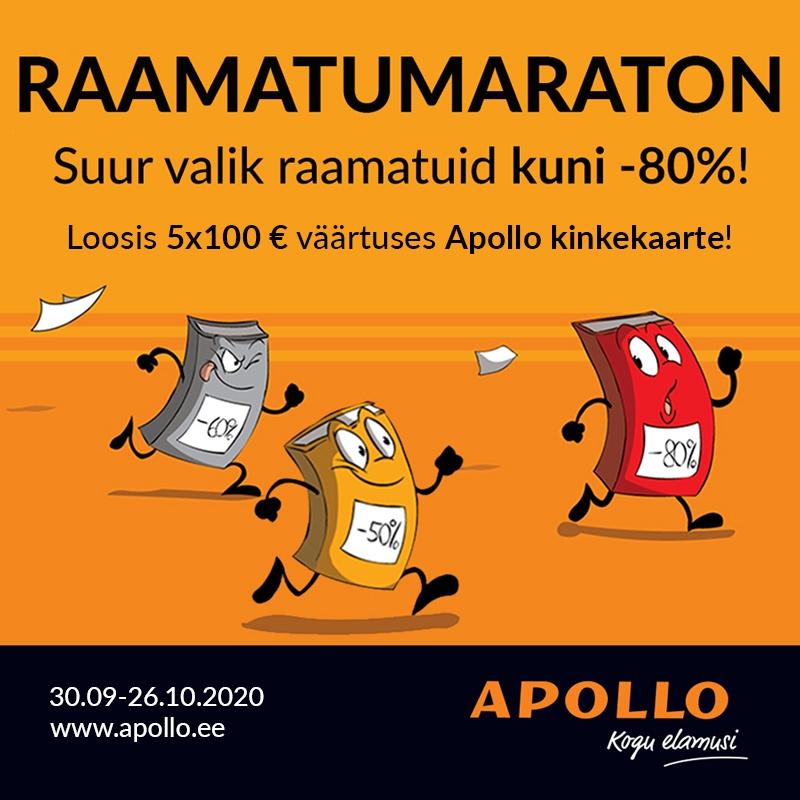 Apollo Raamatumaraton - Apollo