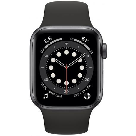 Apple Watch 6 GPS 40mm Sport Band, space gray/black - Photopoint
