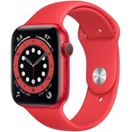 Apple Watch 6 GPS 44mm Sport Band (PRODUCT)RED - Photopoint