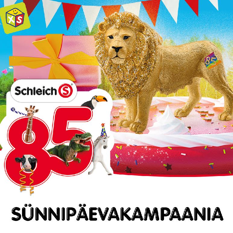 SCHLEICH 85 SÜNNIPÄEVAKAMPAANIA! - XS Mänguasjad