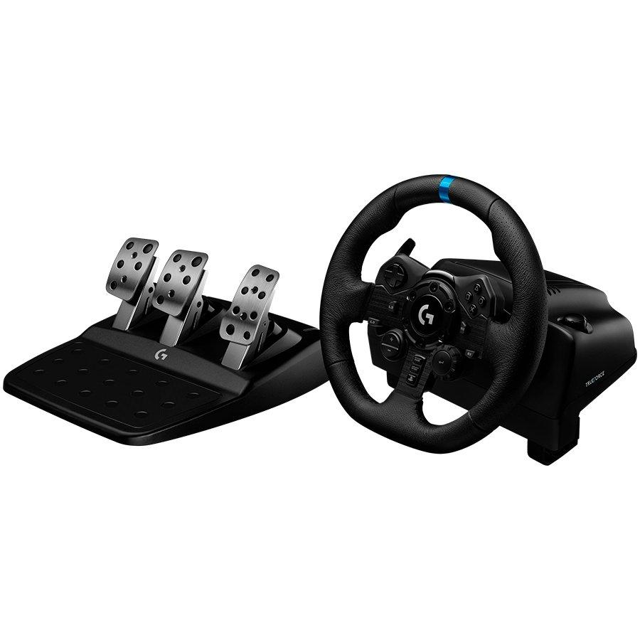 LOGITECH G923 Racing Wheel and Pedals PS4, PS5 ja PC - USB - PLUGC - EMEA - EU - Arvutitark