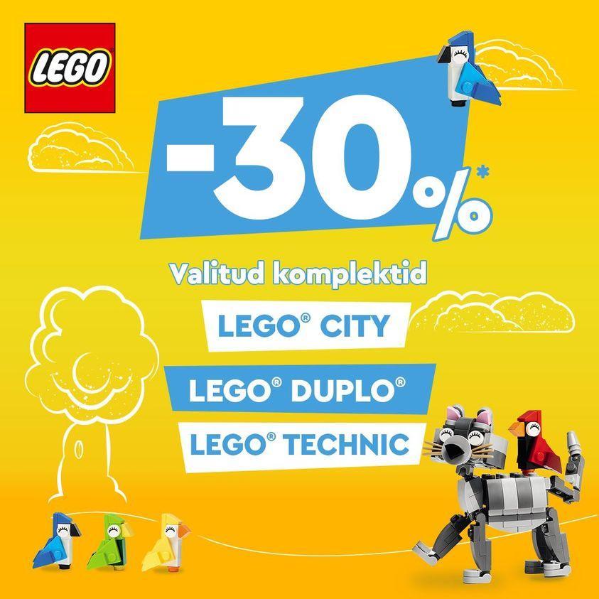 Valitud Lego -30% - Babycity