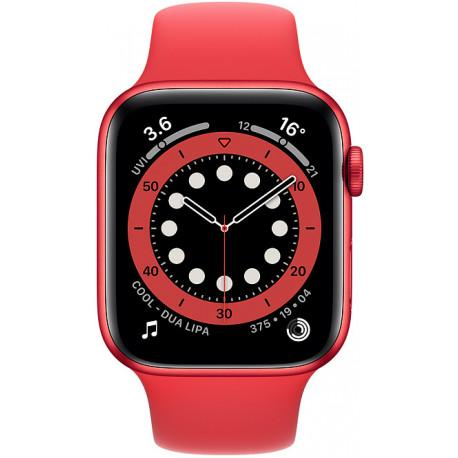 Apple Watch 6 GPS + Cellular 44mm Sport Band (PRODUCT)RED (M09C3EL/A) - Photopoint