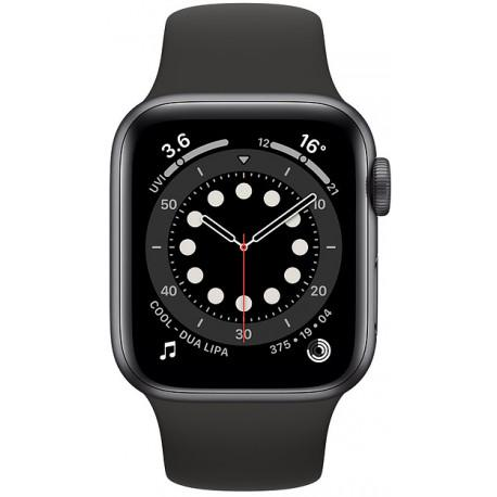 Apple Watch 6 GPS + Cellular 40mm Sport Band, space grey/black (M06P3EL/A) - Photopoint