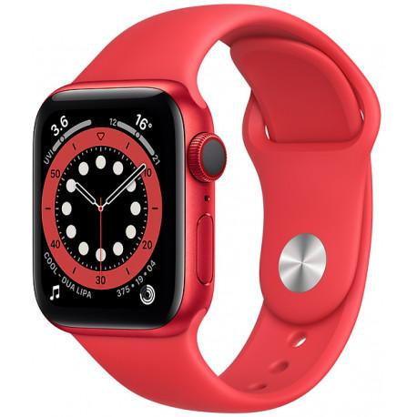 Apple Watch 6 GPS + Cellular 40mm Sport Band (PRODUCT)RED (M06R3EL/A) - Photopoint