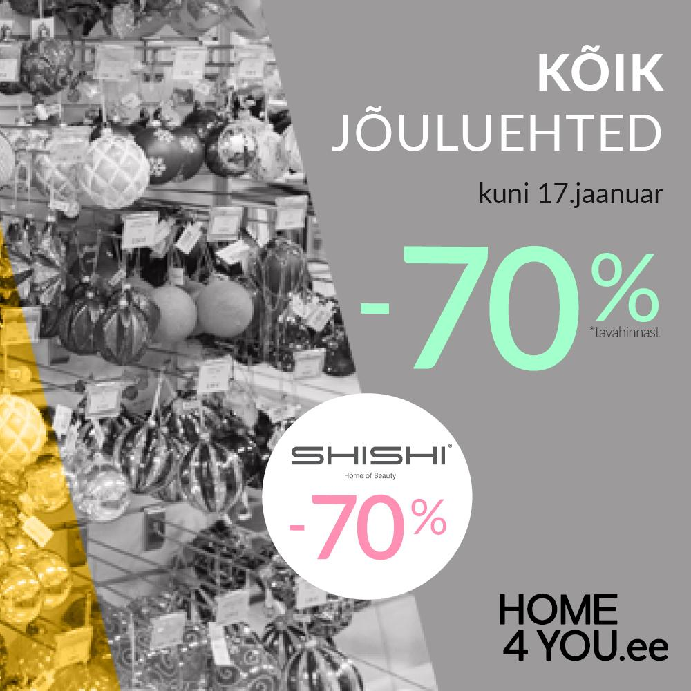 Jõuluehted -70% - Home4you
