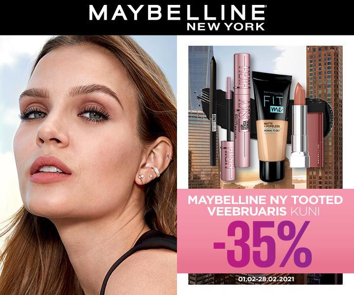 VEEBRUARIS ON MAYBELLINE KUU! - Ideaal Kosmeetika