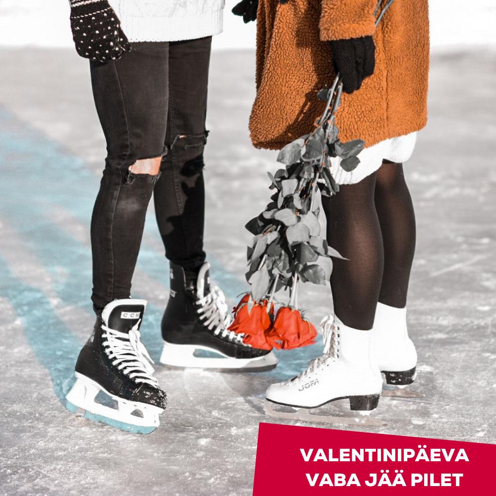 Valentinipäeva jääpilet (eelmüügisoodustus) - Astri Arena