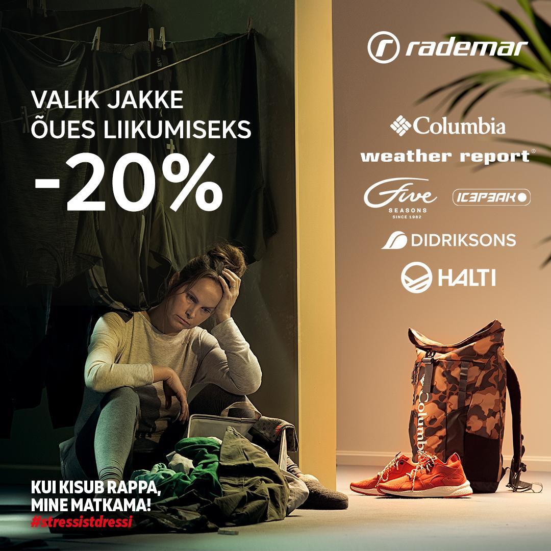 Valik jakke -20% - Rademar