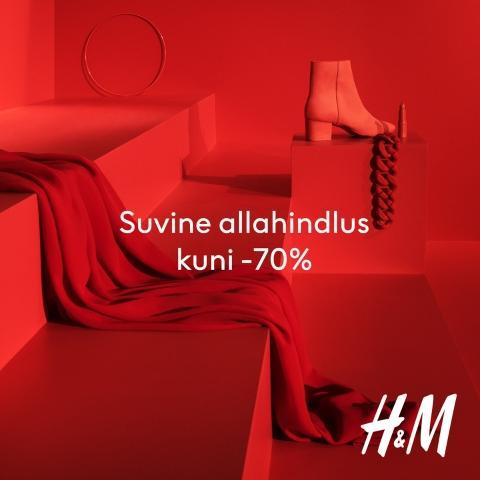 Suvine allahindlused kuni -70% - H&M