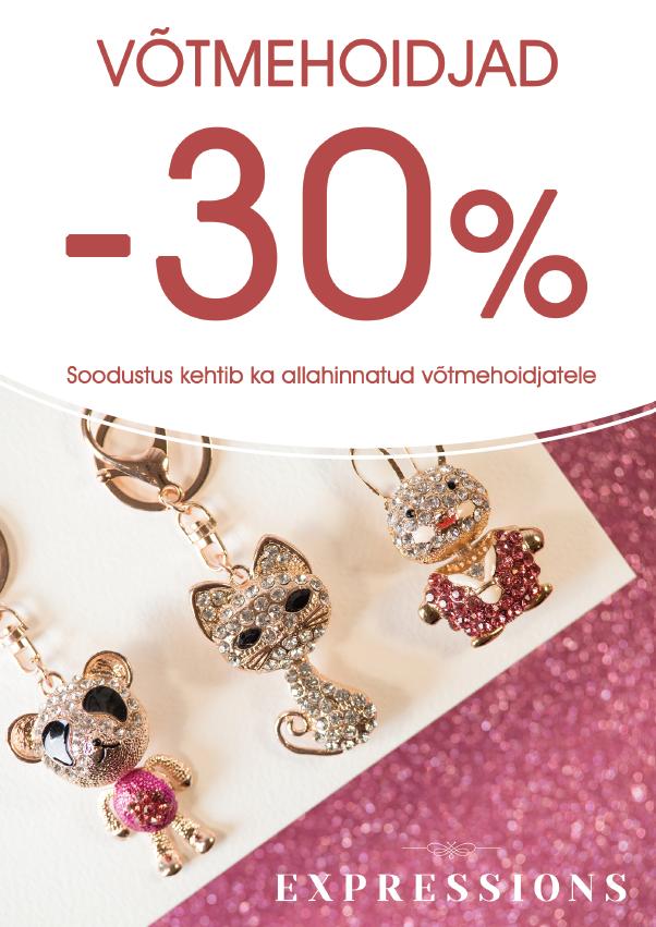 KÕIK VÕTMEHOIDJAD -30% - Expressions