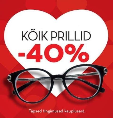 Fama keskuse töötajatele kõik prillid (raam+klaasid) -40% - Instrumentarium